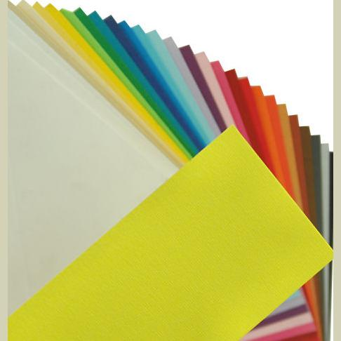 Fabriano Elle Erre Sheet 50 X 70 CM Giallo (Pack of 10)