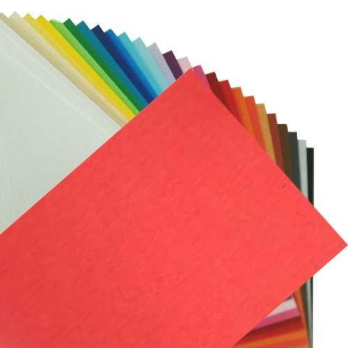 Fabriano Elle Erre Sheet 50 X 70 CM Arancio (Pack of 10)