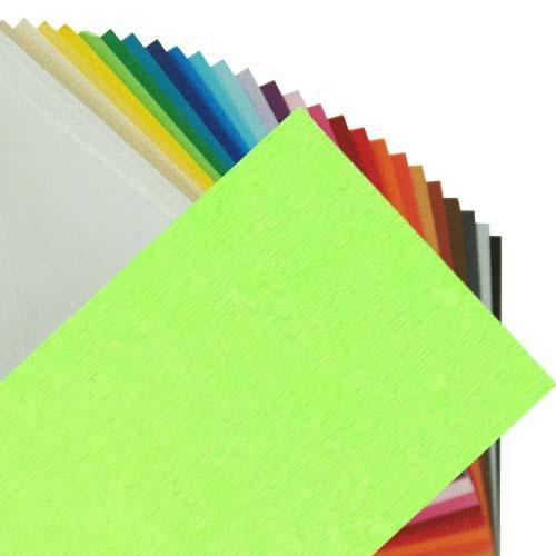 Fabriano Elle Erre Sheet 50 X 70 CM Verde Pisello (Pack of 10)