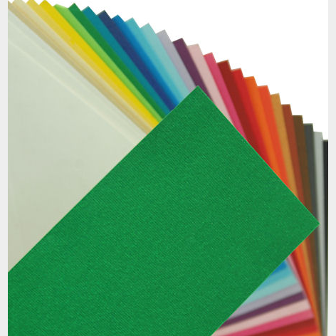 Fabriano Elle Erre Sheet 50 X 70 CM Verde (Pack of 10)