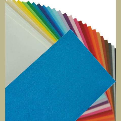 Fabriano Elle Erre Sheet 50 X 70 CM Azzurro (Pack of 10)