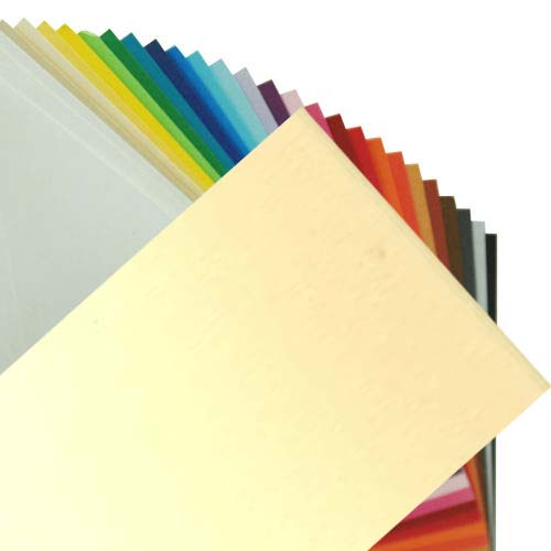 Fabriano Elle Erre Sheet 50 X 70 CM Onice (Pack of 10)