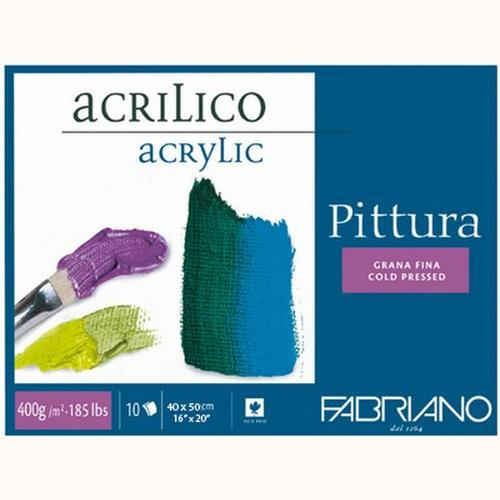 Fabriano Pittura Acrylic Blocks 400 GSM 40 X 50 CM