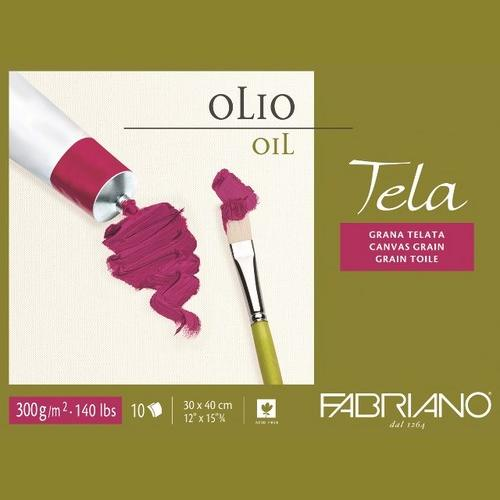 Fabriano Tela Oil Painting Blocks 300 GSM 30 X 40 CM