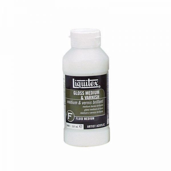 Liquitex Fluid Medium Gloss Medium & Varnish 237ML