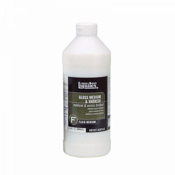 Liquitex Fluid Medium Gloss Medium & Varnish 946ML