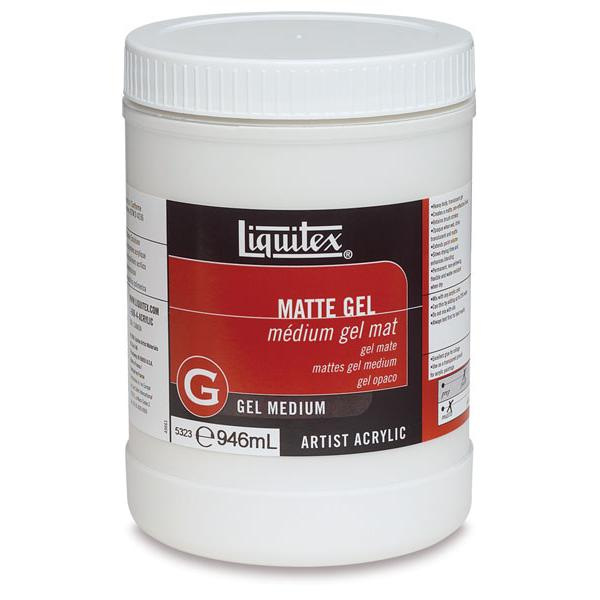 Liquitex Gel Medium Matte Gel 946ML