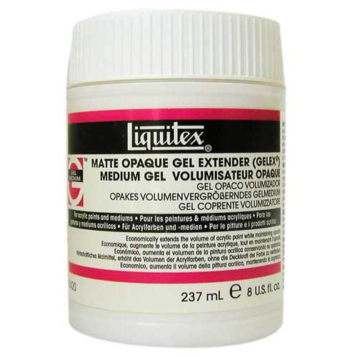 Liquitex Matte Opaque Gel Extender 237ML