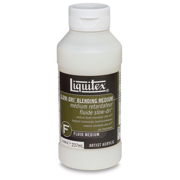 Liquitex Fluid Medium Slow Dri Blending Medium 237ML