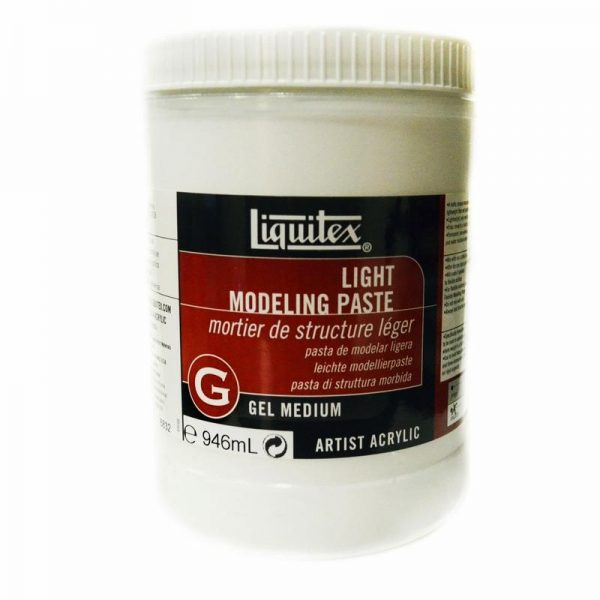 Liquitex Gel Medium Light Modeling Paste 946 ML