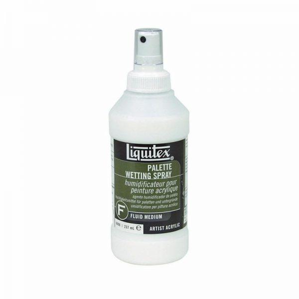 Liquitex Fluid Medium Palette Wetting Spray 237ML