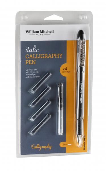 William Mitchell Italic Calligraphy Pen Set