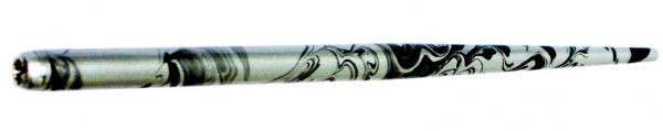 William Mitchell Calligraphy Dip Pen Holder Black & Silver Marbled