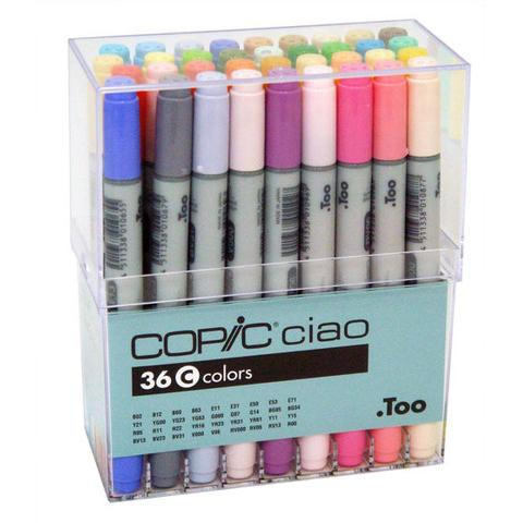 Copic 36 Ciao Markers Set C