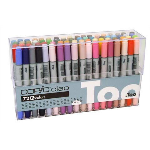 Copic 72 Ciao Markers Set B - Set of 72