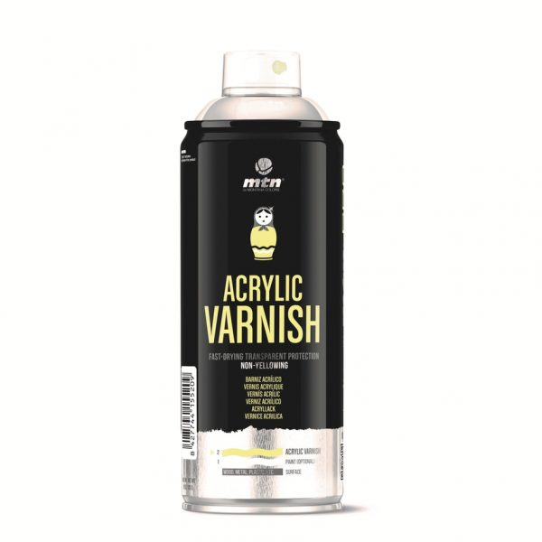 MTN 94 Spain Acrylic Varnish Spray 400ML - Gloss