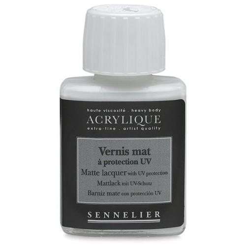 Sennelier Matte lacquer with UVLS 75 ml jar