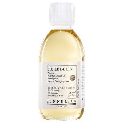 Sennelier Clarified Linseed Oil 250ML