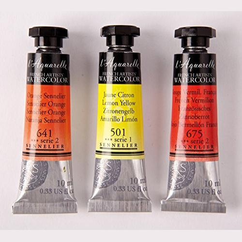 Sennelier l'Aquarelle French Artists' Watercolor 10 ML (Open Stock)