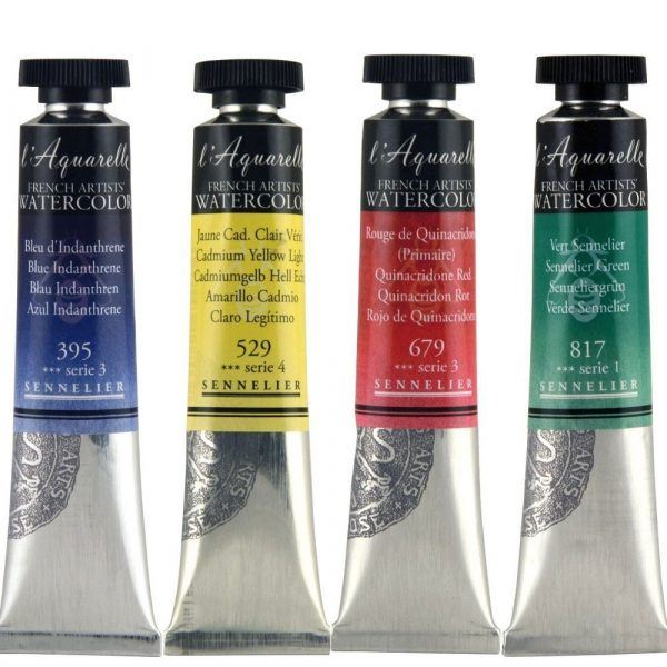 Sennelier l'Aquarelle French Artists' Watercolor 21 ML (Open Stock)