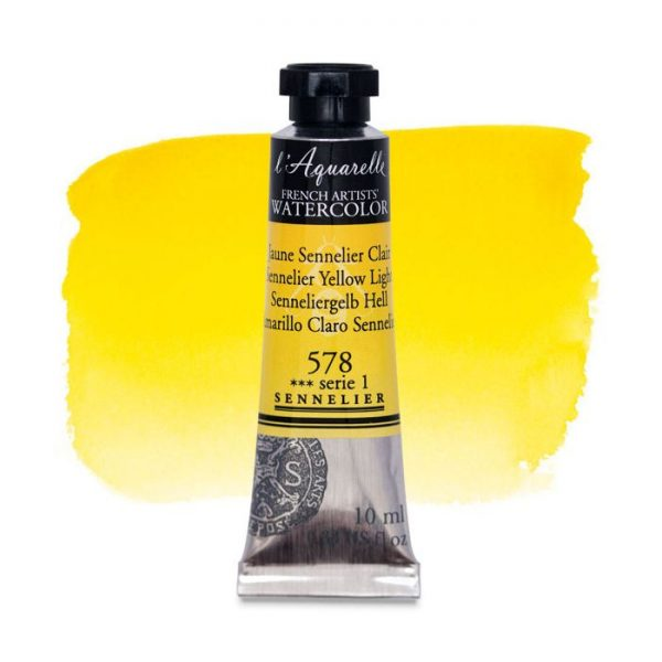Sennelier l'Aquarelle French Artists' Watercolor 10 ML Sennelier Yellow Light