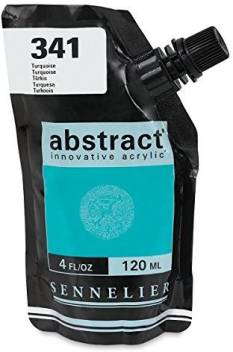 Sennelier Abstract Artist Acrylic pouch 120ML (Turquoise)