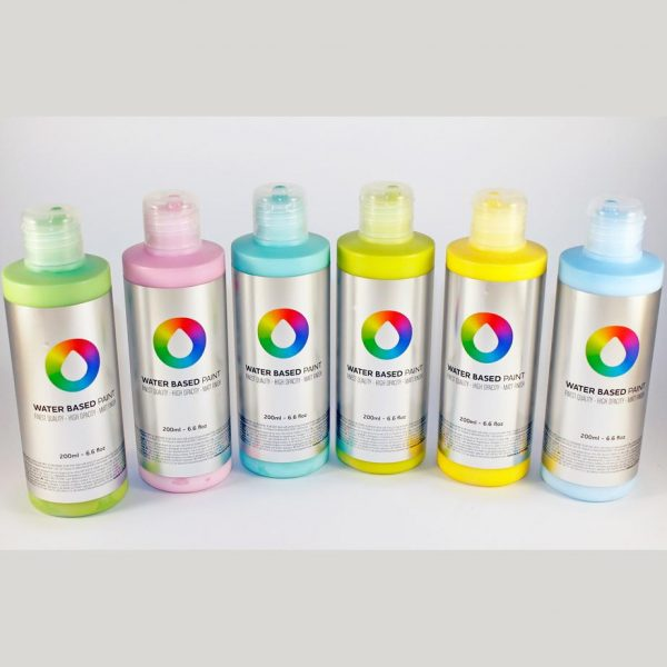 MTN Water Based Paint 200ml (OPEN STOCK)