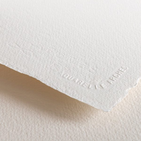 Arches Watercolour Paper Cold pressed 300 Gsm , 11 X 15 inches  ( Pack of 6 sheets )