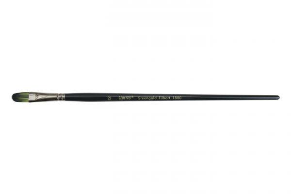 Brustro Artists Greengold Acrylic Brush Filbert Series 1800 - Size - 12