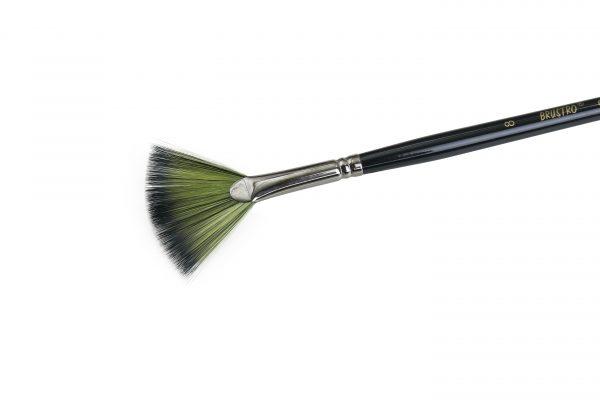 Brustro Artists Greengold Acrylic Brush Fan Series 1800 (OPEN STOCK)
