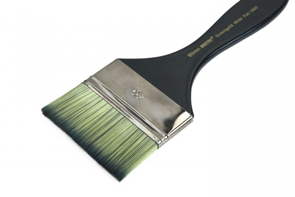 Brustro Artists Greengold Acrylic Brush Wide Flat Series 1800 (OPEN STOCK)