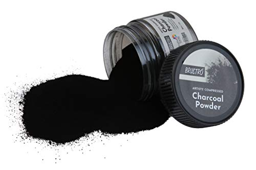 Brustro Artists' Compressed Charcoal Powder 100 ml