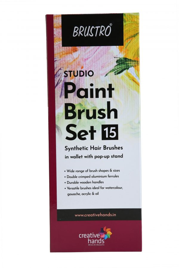Brustro Studio Paint Brush Set of 15