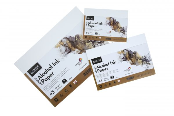 Brustro Artists' Alcohol Ink Paper 234 GSM (OPEN STOCK)