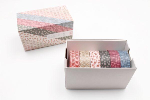 MT Washi  Japanese Masking Tape, 15 mm x 5 mtrs Shade - WAMON (Series 5), Pack of 6