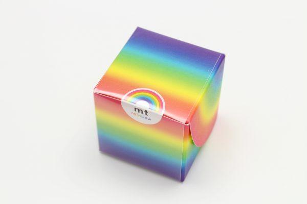 MT Washi Japanese-Masking Tape , 6 mm x 10 mtrs Shade - Rainbow, ( Pack Of 7 )