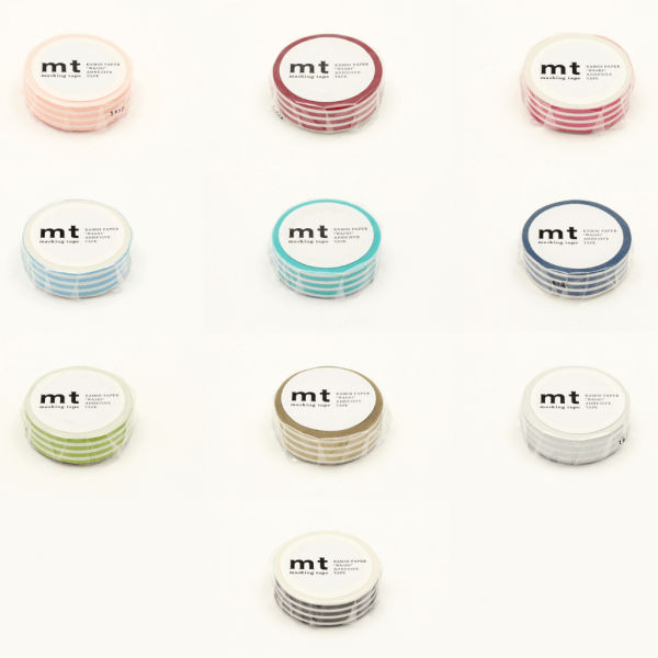 MT Washi Japanese-Masking Tape Borders , 15 mm x 10 mtrs (Pack of 1) Open Stock