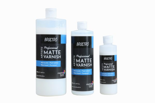 Brustro Artists' Professional Matte and Satin Varnish (OPEN STOCK)
