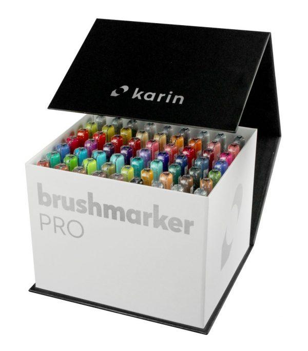 KARIN Brush Marker Pro 60 colours + 3 Blender Set