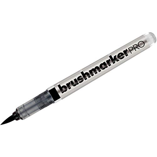 Karin Brushmarker PRO - Water-Based - Brush Tip - Black (030)