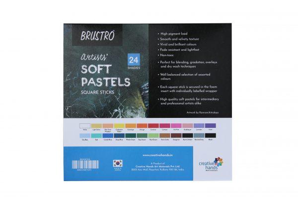 Brustro Artists' Soft Pastels Set of 24