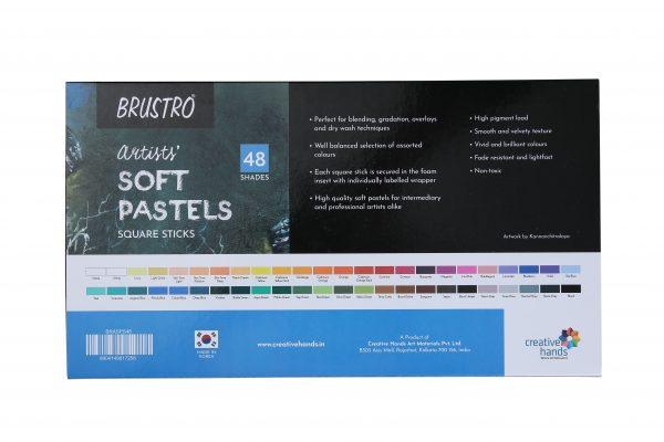 Brustro Artists' Soft Pastels Set of 48