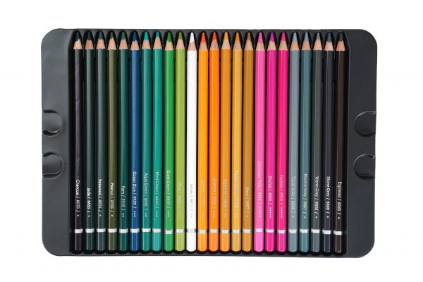 Brustro Artists' Watercolour Pencil Set of 72 ( In Elegant Tin Box )