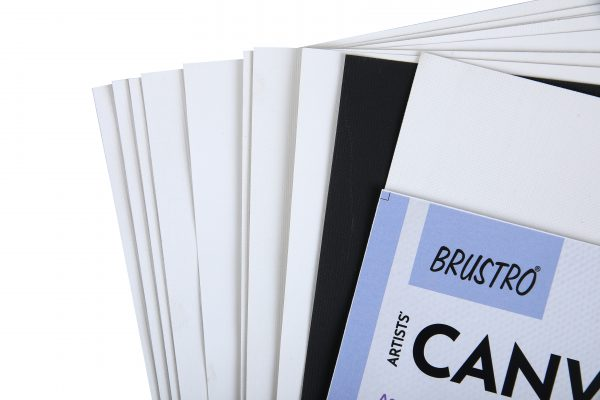 Brustro Artists' Canvas Cut to Size Assorted A4 (Pack of 10
