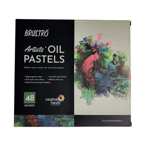 Brustro Artists Oil Pastel Set of 48