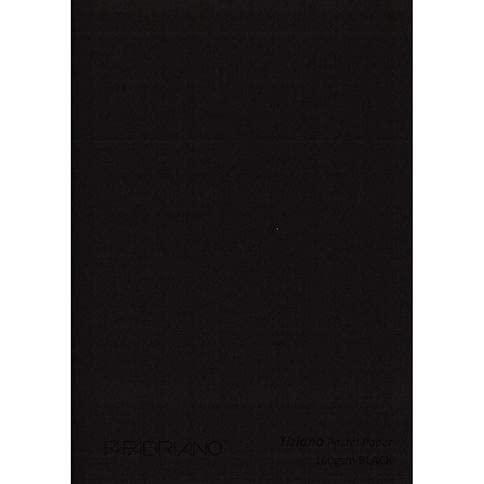 "Brustro Pastel Paper Roll, Shade - Black, Size - 75 cm (30"") X 10 mtr"